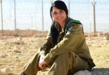 Monaliza Abdo, arabische christliche Soldatin, die kürzlich ihren IDF-Dienst beendet hat. Foto zVg