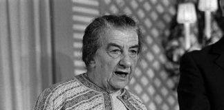 Golda Meir in London, 1973. Foto Public Domain.