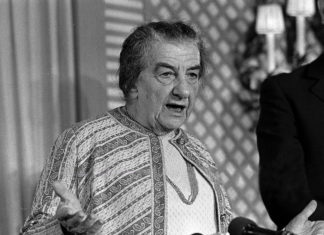 Golda Meir in London, 1973. Foto Public Domain.