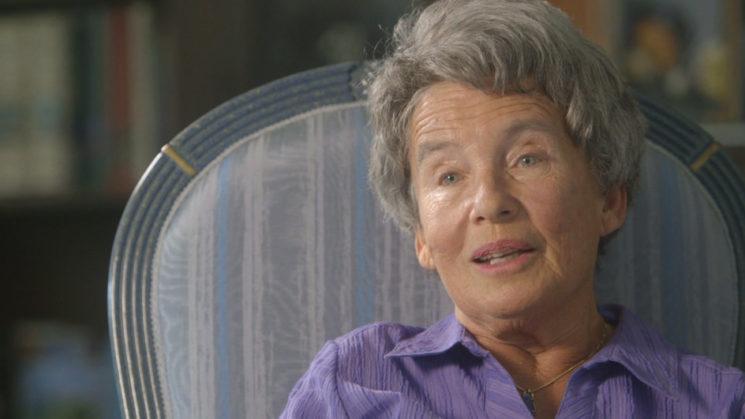 Agnes Hirschi, Stieftochter von Carl Lutz. Foto / Screenshot DOCMINE/SRF