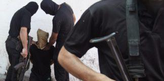 """Im August 2014 hat die Terrororganisation Hamas in Gaza, 18 """"Kollaborateure"""" auf offener Strasse erschossen. Foto Screenshot Youtube"""