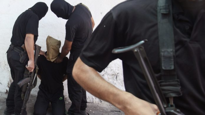 Im August 2014 hat die Terrororganisation Hamas in Gaza, 18