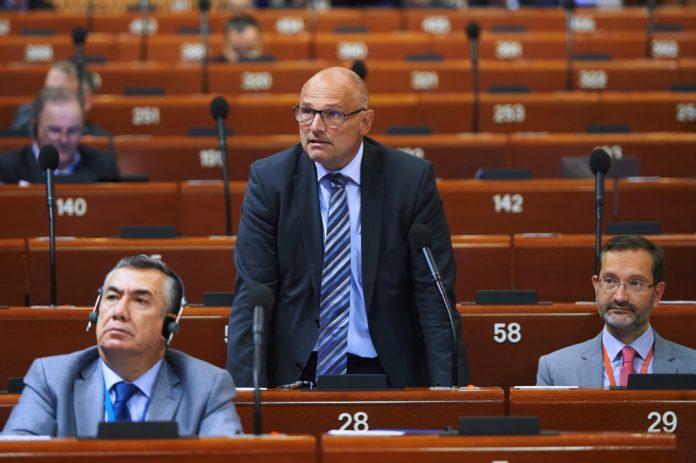 Alfred Heer. Foto Council of Europe / Felix Zahn