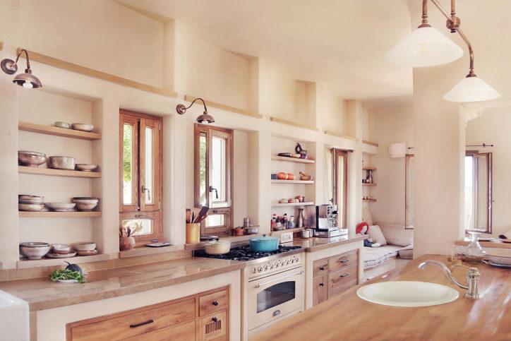 Die Küche eines Öko-Hauses der Tav-Group. Foto: Yaeli Gabriely.