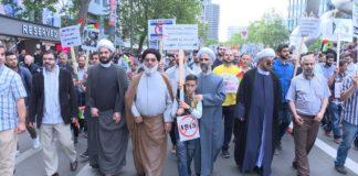 Foto Screenshot Youtube / Jüdisches Forum, Al-Quds-Demonstration in Berlin 2017.