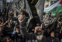 Kundgebung des islamischen Dschihad in Palästina 2017. Foto Safa / Twitter