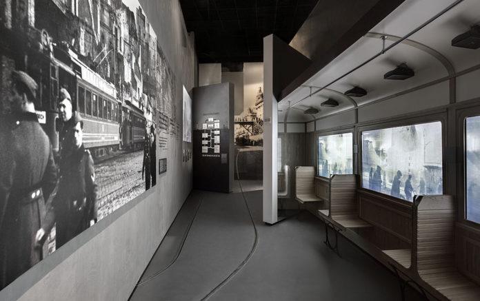 Hauptausstellung des Museums für Geschichte der polnischen Juden in Warschau.