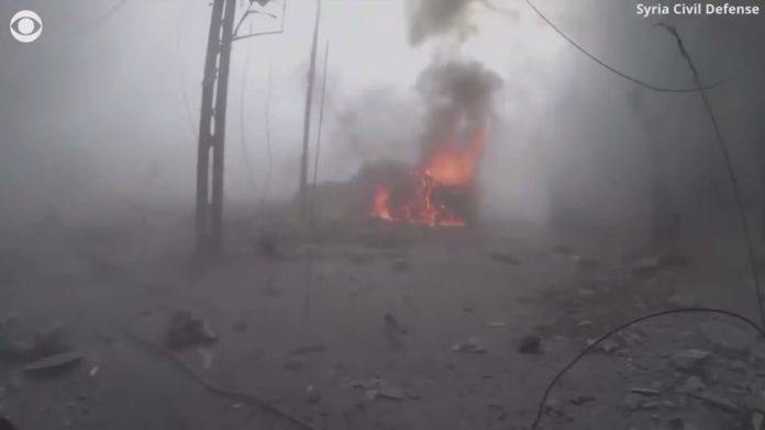Foto Screenshot Youtube / Syrian Civil Defence / CBS