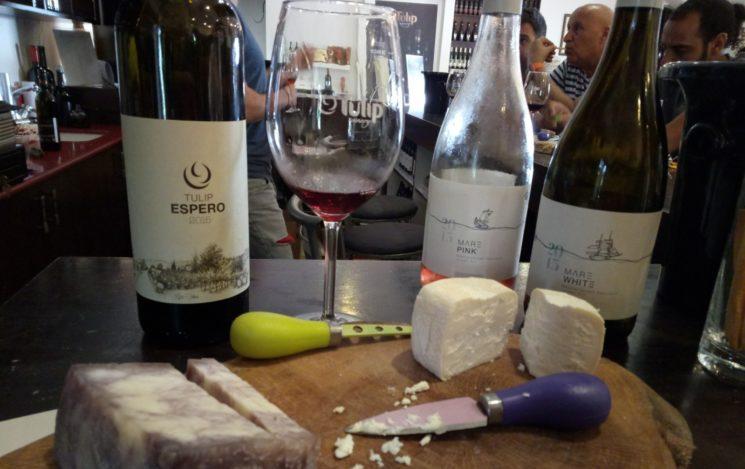 Tulip ist eine der vielen israelischen Weinkellereien. Foto Jessica Halfin