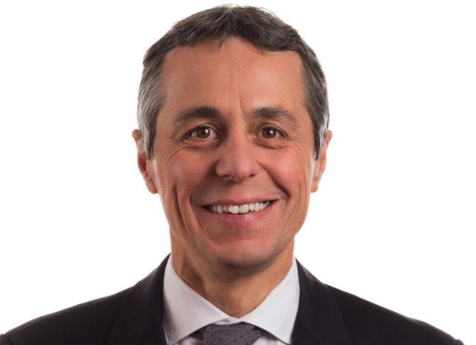 Ignazio Cassis. Foto Stéphane Schmutz