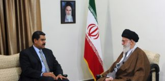 Ayatollah Khamenei empfängt den venezolanischen Präsidenten Nicolás Maduro. Foto khamenei_ir