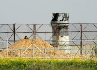 Grenze zum Gazastreifen. Foto Abed Rahim Khatib/Flash90