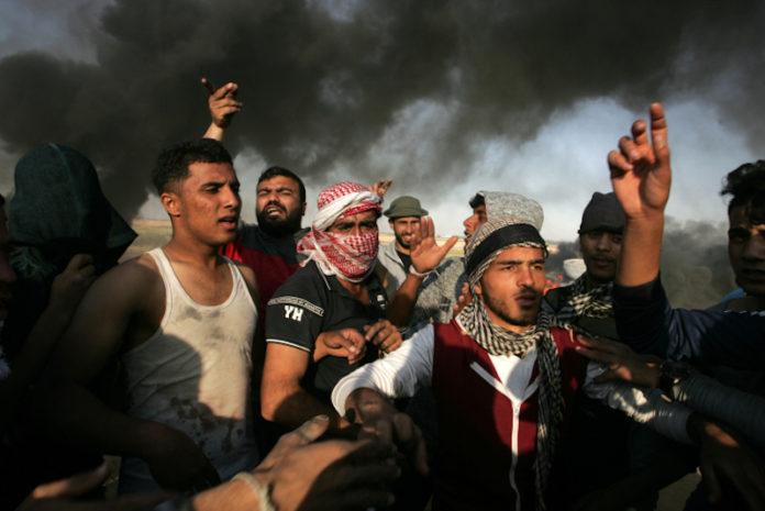Ausschreitungen im Gazastreifen. Abed Rahim Khatib/Flash90
