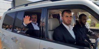Hamas-Führer Ismail Haniyeh musste am Dienstag dringend nach Kairo. Foto Hamas Webseite.