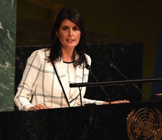 US-Botschafterin bei der UNO Nikki Haley. Foto UN