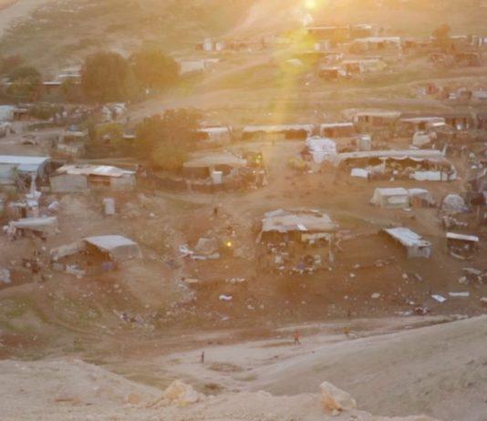 Das Beduinendorf Khan al-Ahmar. Foto Screenshot YouTube