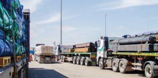 Die Grenze zwischen Israel und dem Gazastreifen bleibt offen für die Lieferung von Nahrungsmitteln sowie humanitärer und medizinischer Hilfe nach Gaza. Foto Cogat