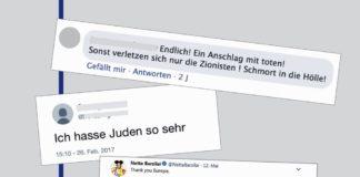 """Foto Screenshot Studie """"Antisemitismus 2.0 und die Netzkultur des Hasses"""", Prof. Dr. Dr. h.c. Monika Schwarz-Friesel / Technische Universität Berlin."""