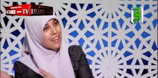 Ahlam Tamimi erzählt in einem Interview mit dem kuwaitischen Fernsehen, wie sie einen Supermarkt in Jerusalem in die Luft gejagt hat. Foto MEMRI Video Screenshot