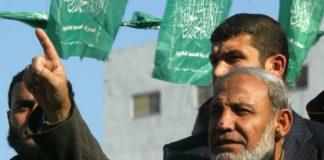 Mahmoud al-Zahar an einer Demonstration in Khan Yunis. Foto Abed Rahim Khatib / Flash 90