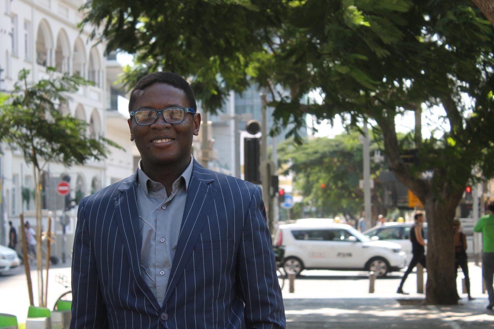 """Afrikanischer Student in Israel: """"Hier schlägt das Herz der Welt"""""""