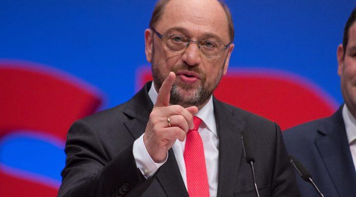 Martin Schulz auf dem SPD Bundesparteitag am 25. Juni 2017 in Dortmund. Foto Olaf Kosinsky, CC BY-SA 3.0 de, https://commons.wikimedia.org/w/index.php?curid=61426459