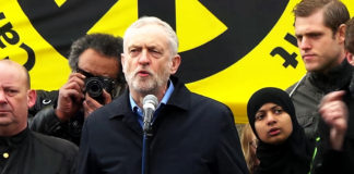 Jeremy Corbyn spricht an einer Kundgebung beim Trafalgar Square am 27. Februar 2016. Foto CC0 1.0 Universal (CC0 1.0) Public Domain Dedication / Garry Knight, Flickr.com