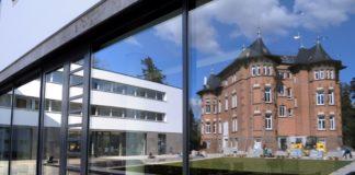 Südflügel und Villa der Evangelischen Akademie Bad Boll. Foto © Evangelische Akademie, Giacinto Carlucci