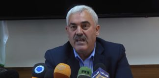 "Shawan Jabarin Generaldirektor ""Al-Haq Center for International Law"". Foto Youtube / Al-Haq."