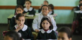 Schulunterricht in Gaza. Foto Wissam Nassar/Flash90