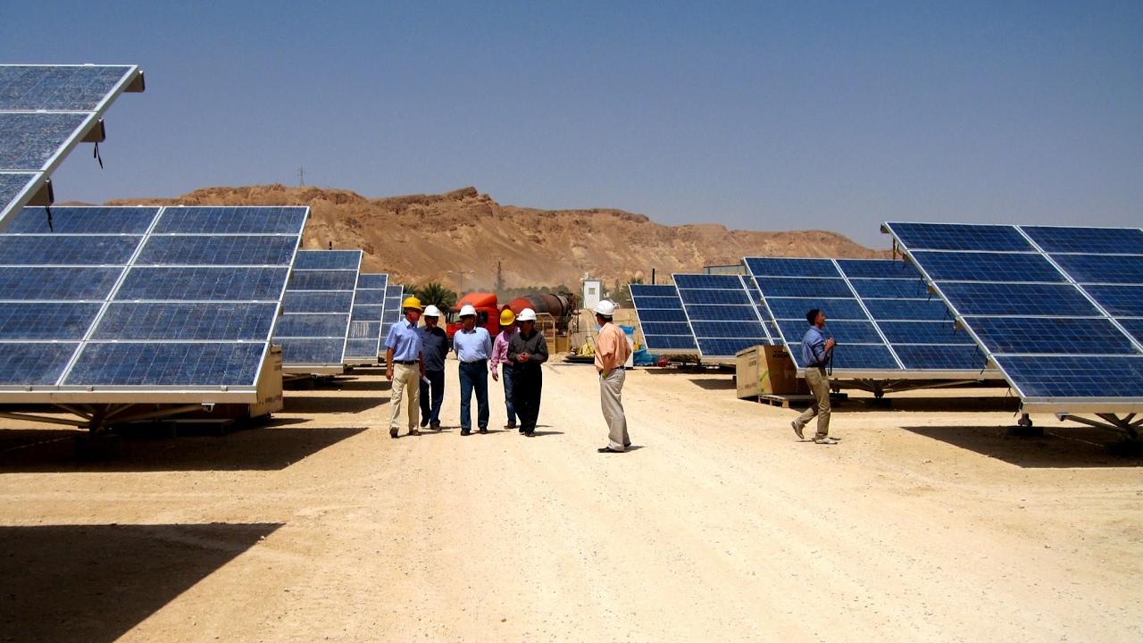 Moderne Technologien aus Israel für Afrika