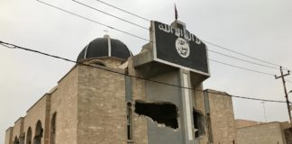 Vom IS zerstörte Kirche in Mossul. Foto Screenshot Preemptive Love / Vimeo