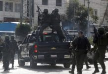 Symbolbild. Sicherheitsdienst der Palästinensischen Autonomiebehörde. Foto Safa