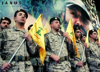 Hisbollah Kämpfer. Foto janus-initiative.com