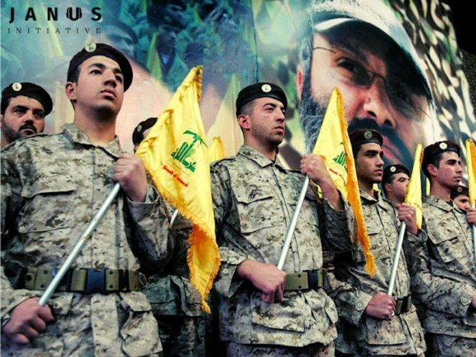 Hisbollah Kämpfer. Foto janus-initiative.com