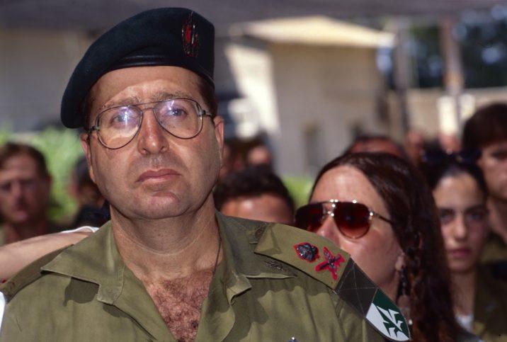 """General Moshe """"Bogie"""" Ya'alon. Foto ZvG"""