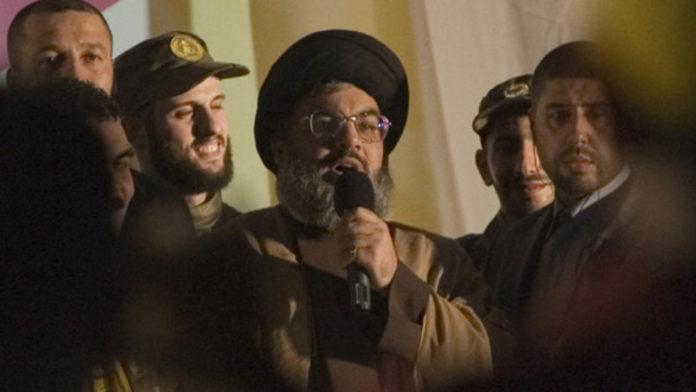 Hassan Nasrallah, Führer der libanesischen Terrorgruppe Hisbollah. Foto Ferran Queved/Flash90.