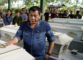 Präsident Rodrigo Roa Duterte am 28. Januar 2019. Foto Philippine Information Agency - Image link, Public Domain, https://commons.wikimedia.org/w/index.php?curid=76226046