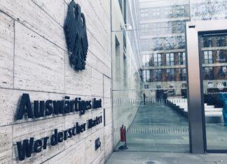 Das Auswärtige Amt der Bundesrepublik Deutschland . Foto Sabina Wolf