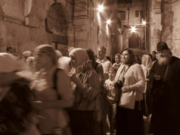 Christen in Israel. Symbolbild PD
