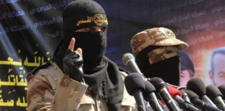Abu Hamza von den Al-Quds Brigaden. Foto Paltoday