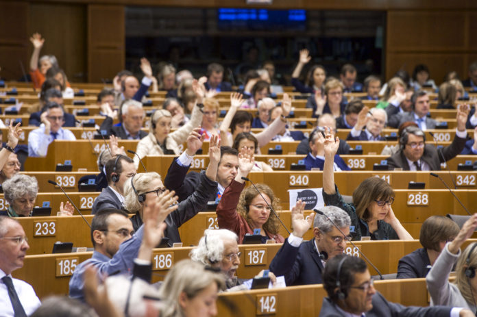 Symbolbild. Session im EU-Parlament. Foto © European Union 2019