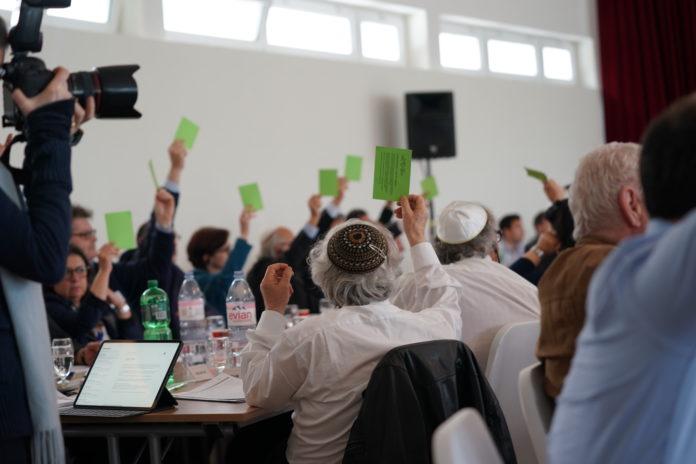 SIG-Delegiertenversammlung am Sonntag 19. Mai 2019 in Zürich: Aufruf an die Politik Antisemitismus zu bekämpfen. Foto Medienstelle SIG