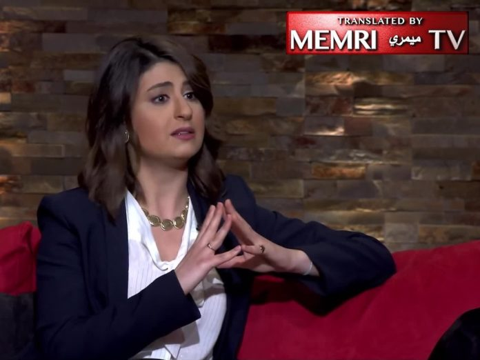 Maya Khadra. Foto Screenshot Youtube / Memri