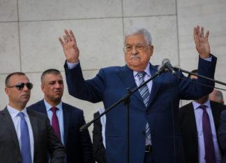 Palästinenserpräsident Mahmoud Abbas. Foto Flash90