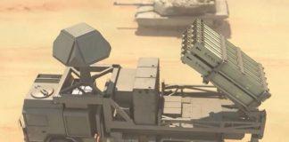 Der I-Dome, eine mobile Version des Iron Dome Raketenabwehrsystems, hergestellt vom israelischen Luft- und Raumfahrtunternehmen Rafael. Foto Channel 13/Rafael