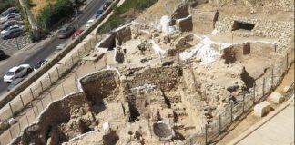 Archäologische Ausgrabungen am Mount Zion. Foto Regina Winters