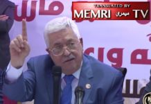 Mahmoud Abbas. Foto Screenshot Memri/Facebook