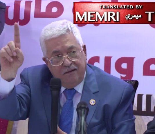 Mahmoud Abbas. Foto Screenshot Memri/Facebook