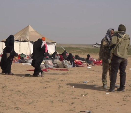 Al-Hol Camp im März 2019. Foto VOA - https://www.voanews.com/a/syria-camps-usagm/4823757.html, Public Domain, https://commons.wikimedia.org/w/index.php?curid=77399488